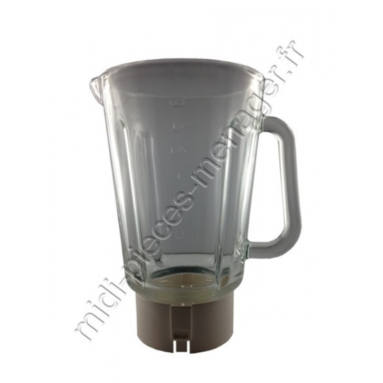 bol verre pour blender mastermix lm800 moulinex MS-0A11694