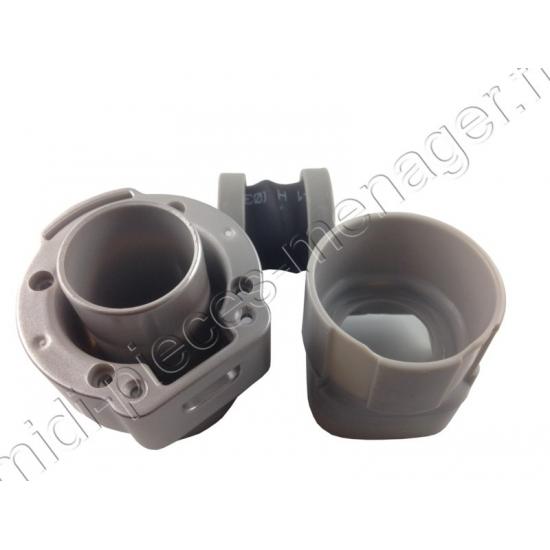 piston gris avec ressort pour aspirateur balai air force RH87 rowenta RS-RH5429