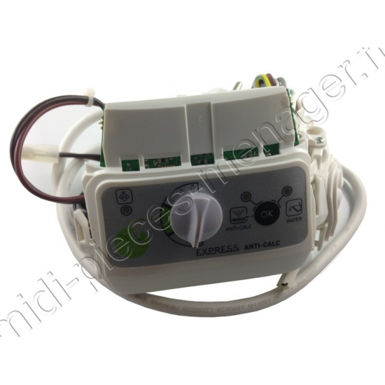boitier de commande centrale de repassage express anti calc GV74 calor CS-00123023