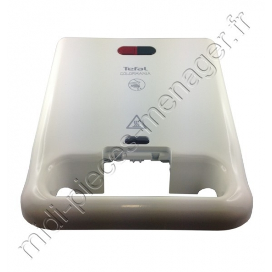 coque superieure blanche gaufrier colormania SW324 tefal TS-01040490