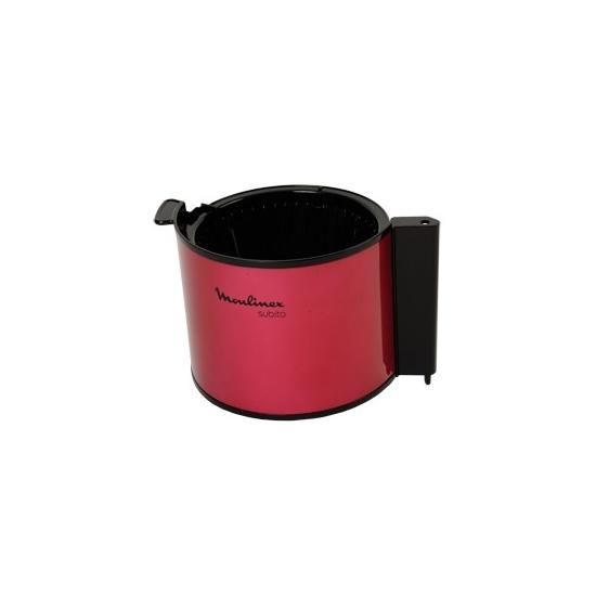 porte filtre rouge avec clapet cafetiere subito FG360 moulinex SS-202231