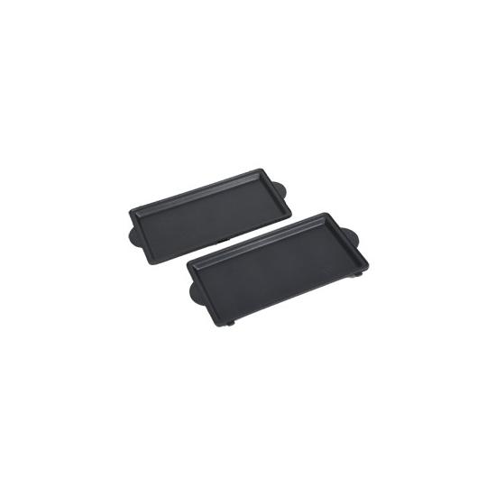 lot de 2 plaques grill croques gaufre snack times SW28 moulinex TS-01034860