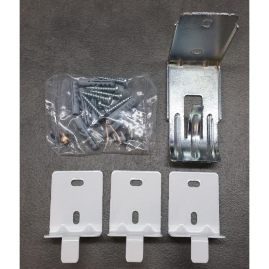 fixation pour radiateur droit fluide ou sec delonghi 5525210011