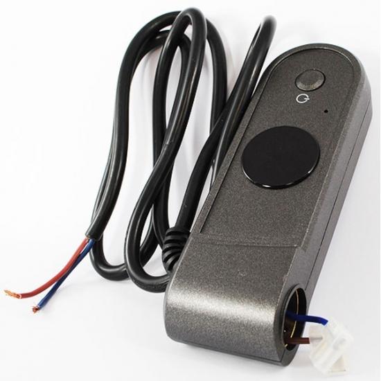 boitier de commande thermostat IR anthracite seche serviette delonghi
