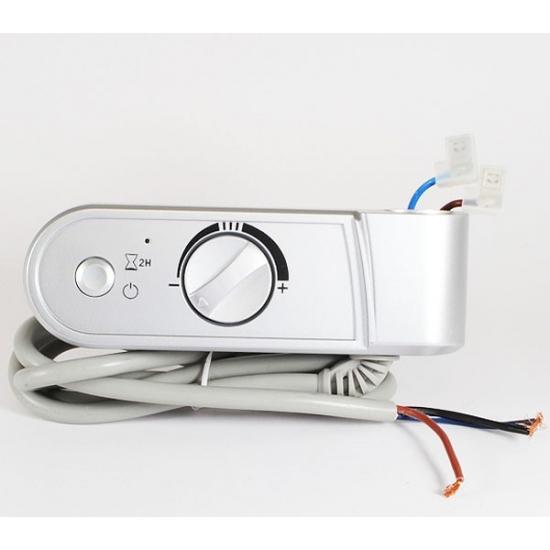 boitier de commande thermosthat chrome seche serviette delonghi