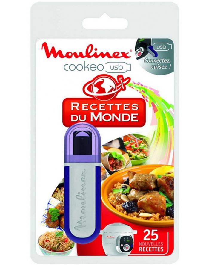 cle USB 25 recettes du Monde cuiseur cookeo moulinex XA600111