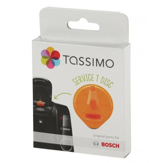 T-Disc de service orange avec code barres cafetiere TASSIMO bosch siemens 00576837