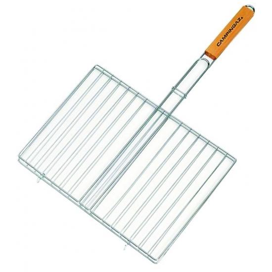 Grille rectangulaire double - 40x29 cm - CAMPINGAZ 205703