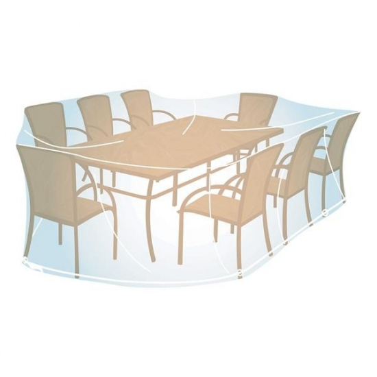 Housse pour ensemble de jardin rectangulaire ou ovale - taille XL - CAMPINGAZ 205693