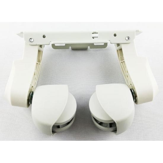 support pieds + roulettes radiateur bain d'huile delonghi 7310910028 5510900008