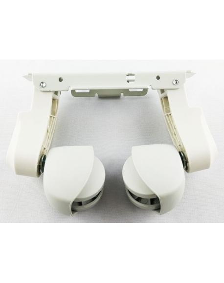 Support Pieds Roulettes Radiateur Bain Dhuile Delonghi 7310910028 5510900008