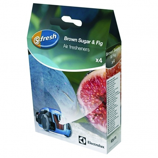 "Parfumettes s-fresh™ ""Brown Sugar & Fig Air"" pour aspirateurs electrolux 9001677781"