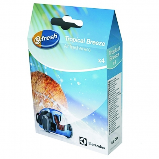 "Parfumettes s-fresh™ ""Tropical Breeze"" pour aspirateurs electrolux 9001677799"