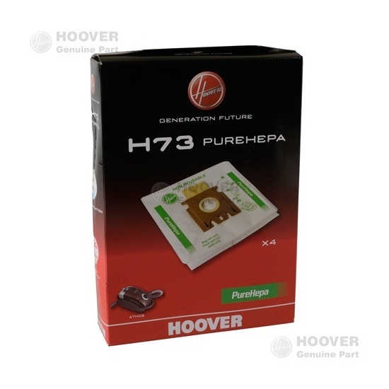sacs microfibre pure epa H73 aspirateur HOOVER - 35601375