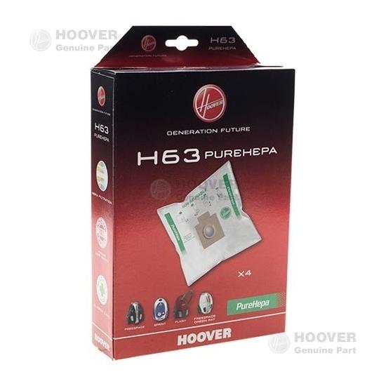 sacs microfibre pure epa H63 aspirateur HOOVER - 35600536