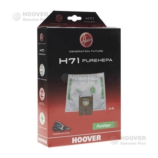 sacs microfibre pure epa H71 aspirateur HOOVER - 35601069