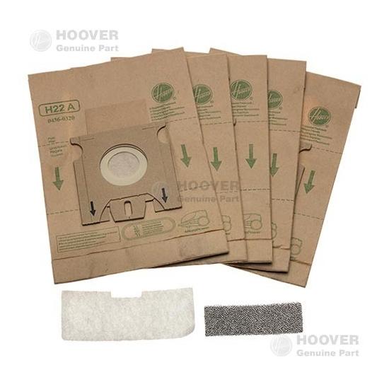 sacs papier H22A aspirateur HOOVER - 09173865