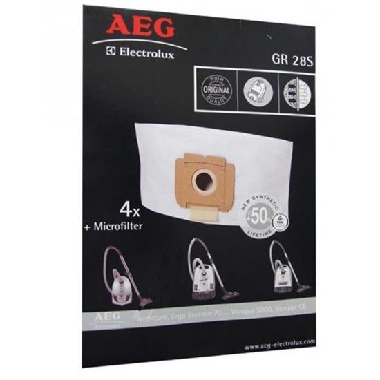 kit de 4 sacs mircofiltre aspirateur GR28S AEG ELECTROLUX 9002565423