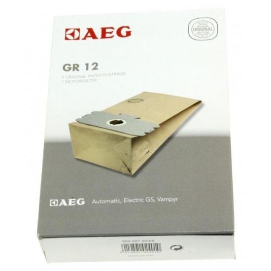 kit de 5 sacs + 1 sac microfibre aspirateur GR12 AEG ELECTROLUX 8996689012533