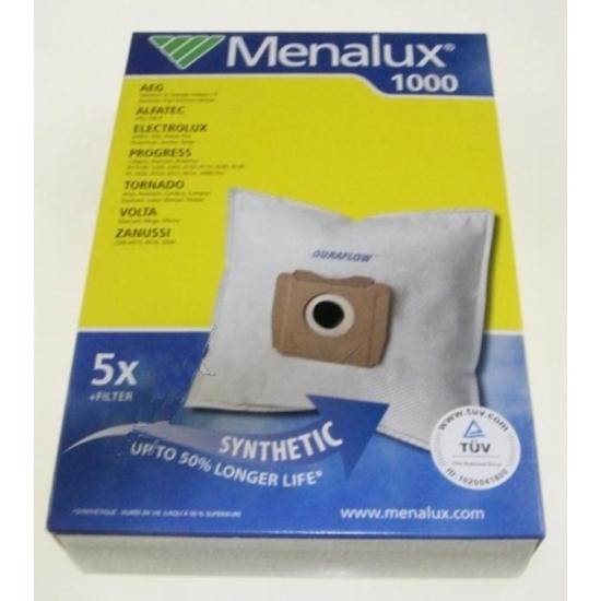 kit 5 sac + 1 microfibre aspirateur GR.28 AEG 4415 4416 ZANUSSI 9001961326