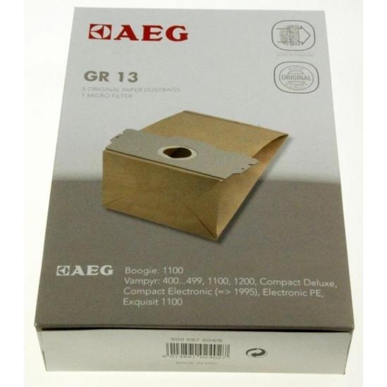 kit 5 sacs aspirateur GR13 AEG ELECTROLUX 9000876046