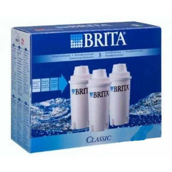 kit de 3 cartouches filtrantes classic brita 205386