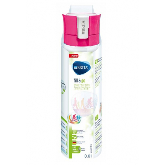 filtre bouteille fill et go vital rose brita 1016333