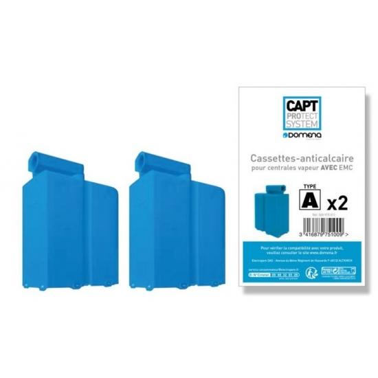 kit de 2 cassettes anti-calcaire centrale de repassage domena 500975011