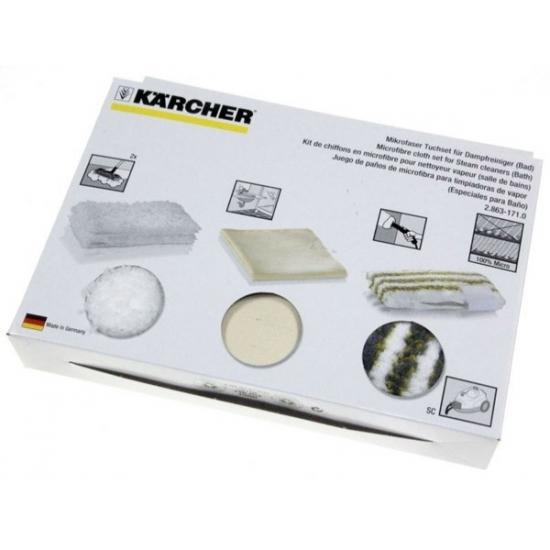 jeu de lingettes STEAM+CLEAN BATH aspirateur Karcher 28631710