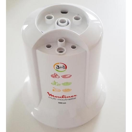 demi boitier superieur blanc hachoir multimoulinette AT71 MOULINEX SS-1530000191