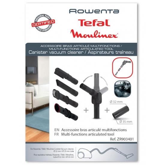 ZR903401 - Accessoire bras articule multifonction + suceur aspirateur Rowenta
