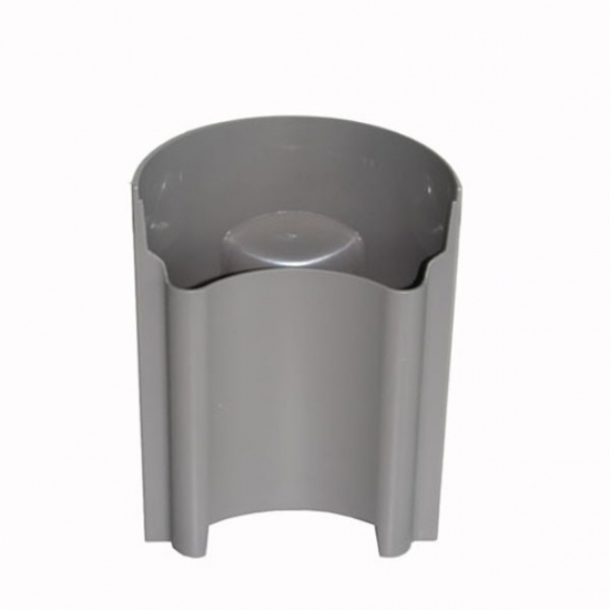 recipient a pulpe gris metal pour centrifugeuse multiquick braun BR81345959