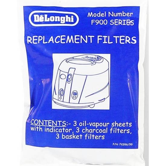 filtres de remplacement friteuse F9 delonghi 5525114400
