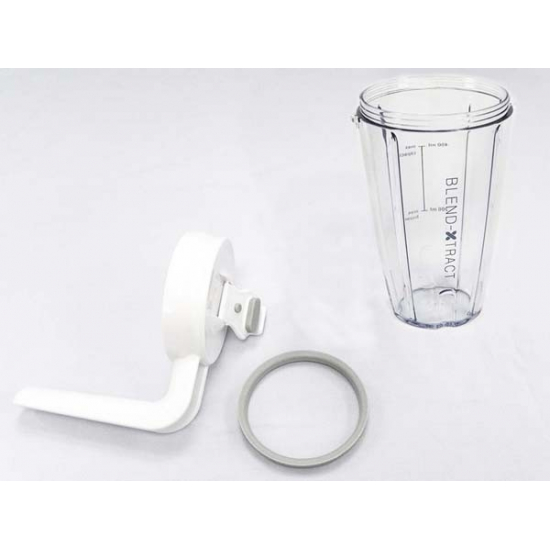 bol 400ml + couvercle + joint blender BL237 kenwood KW715493
