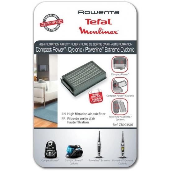 ZR903501 - filtre de sortie d'air haute filtration aspirateur ROWENTA MOULINEX