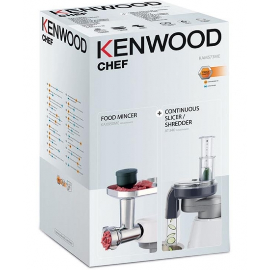 KAM573ME - kit 2 accessoires KAX950ME+AT340 robot chef kenwood