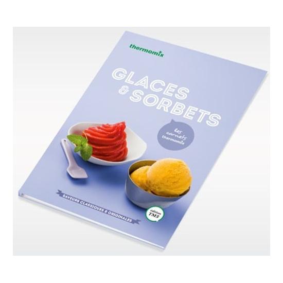 livre de recettes Glaces et Sorbets vorwerk TM31 24114