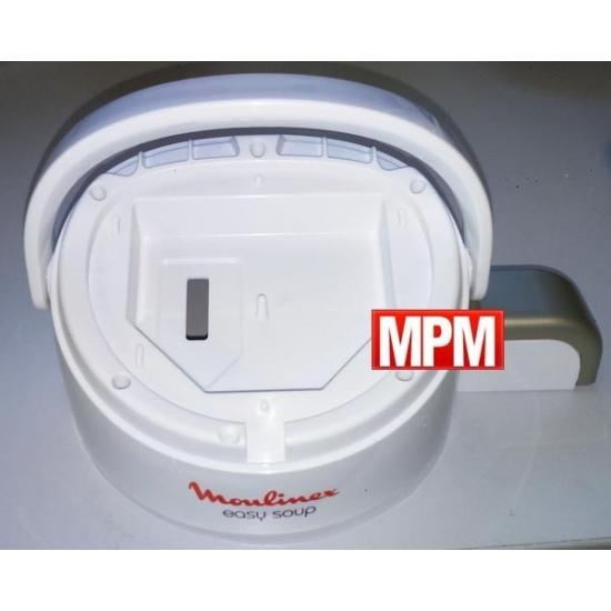MS-650049 - boitier + poignee blender easy soup LM84 moulinex