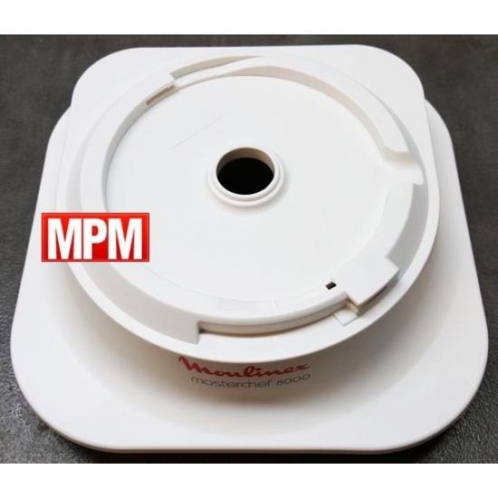MS-0697480 - demi boitier superieur blanc masterchef 8000 Moulinex