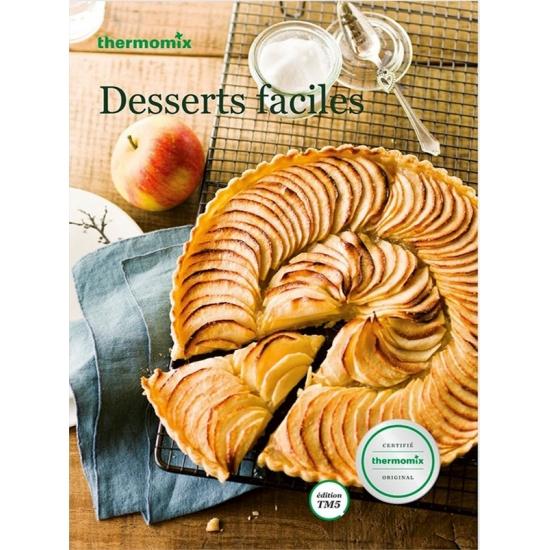 livre de recettes Desserts Faciles vorwerk TM5 24215