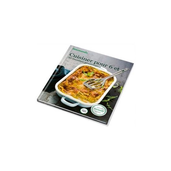 livre de recettes Cuisiner pour 6 et + vorwerk TM31 24410