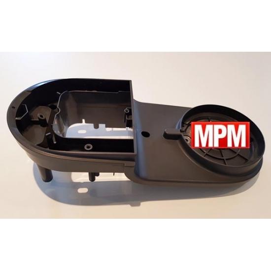 MS-650161 - demi boitier inferieur gris robot masterchef gourmet Moulinex