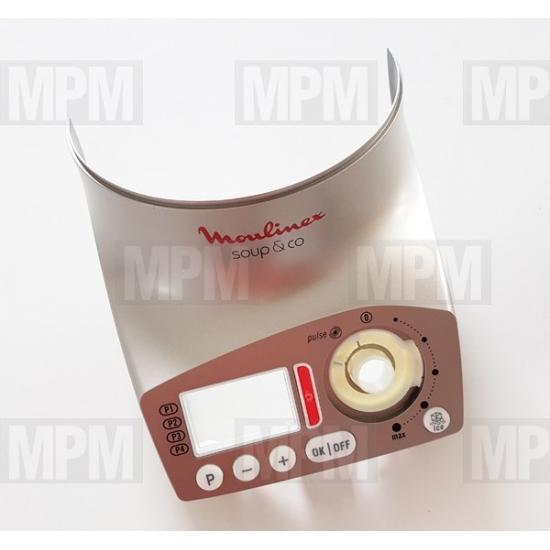 MS-0A08512 - Cadran gris blender Soup & Co Moulinex