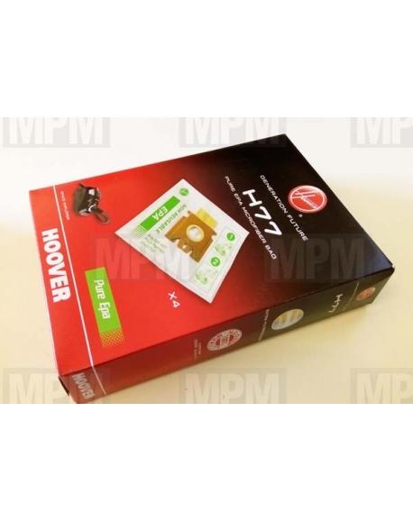 Sacs à poussière Pure Epa pour aspirateur Hoover H77