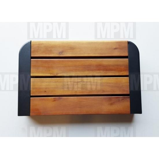5010004124 - Tablette bois et fer droit/gauche Barbecue serie 3-4 Woody Campingaz