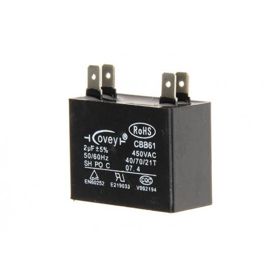 TL1835 - CONDENSATEUR 2µF 450V