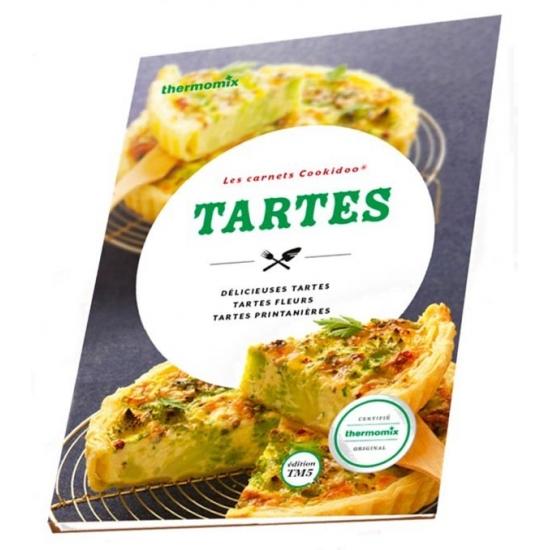 livre de recettes Les Tartes vorwerk TM31 25224