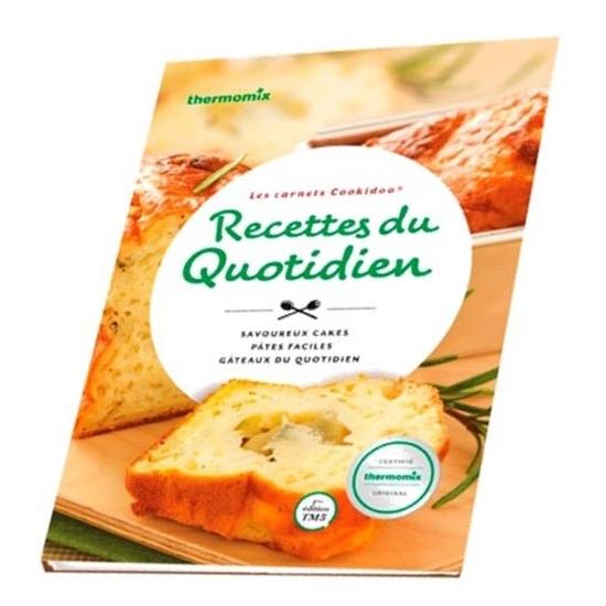 livre de recettes Les Recettes du quotidien vorwerk TM31 57874