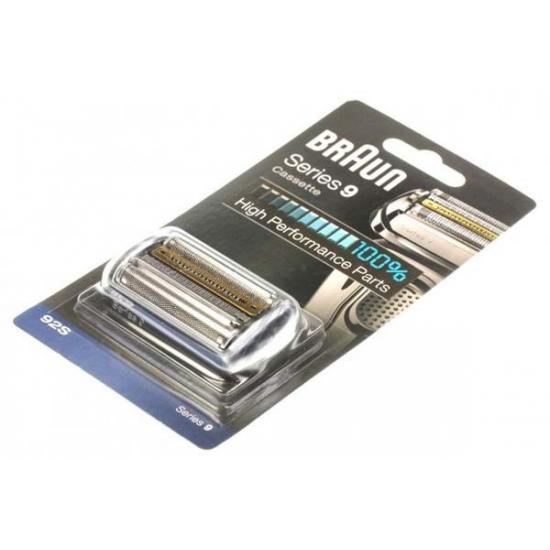 tete de rasoir cassette noir 92S rasoir serie 9 braun 81550343