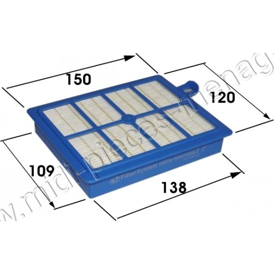 9001951194 - filtre hepa efh12w lavable adaptable aspirateur electrolux